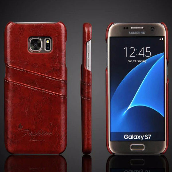 Luxury Leather Case For Samsung-10