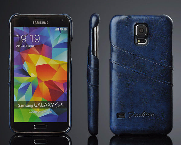 Luxury Leather Case For Samsung-14