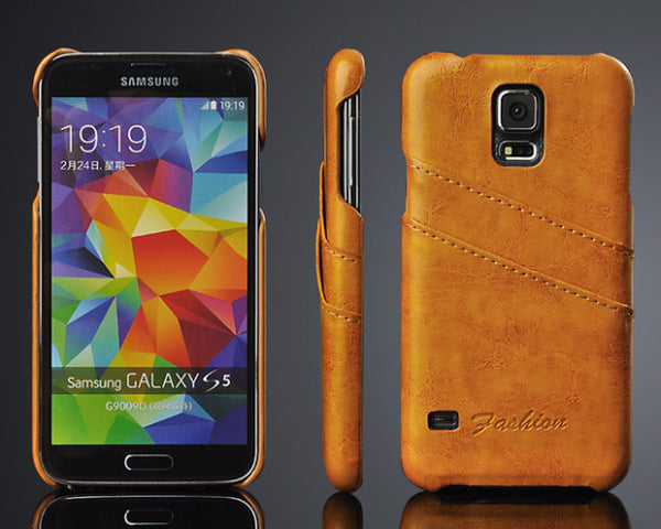 Luxury Leather Case For Samsung-7