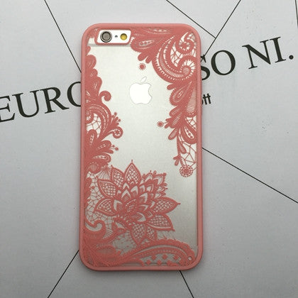 Flower Lace Full edge Protection Mandala Vintage Case For iPhone-11