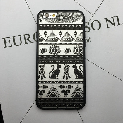 Flower Lace Full edge Protection Mandala Vintage Case For iPhone-2
