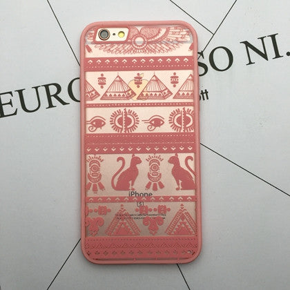Flower Lace Full edge Protection Mandala Vintage Case For iPhone-17