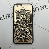 Flower Lace Full edge Protection Mandala Vintage Case For iPhone-5