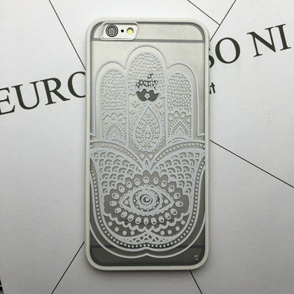 Flower Lace Full edge Protection Mandala Vintage Case For iPhone-16