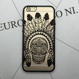 Flower Lace Full edge Protection Mandala Vintage Case For iPhone-14