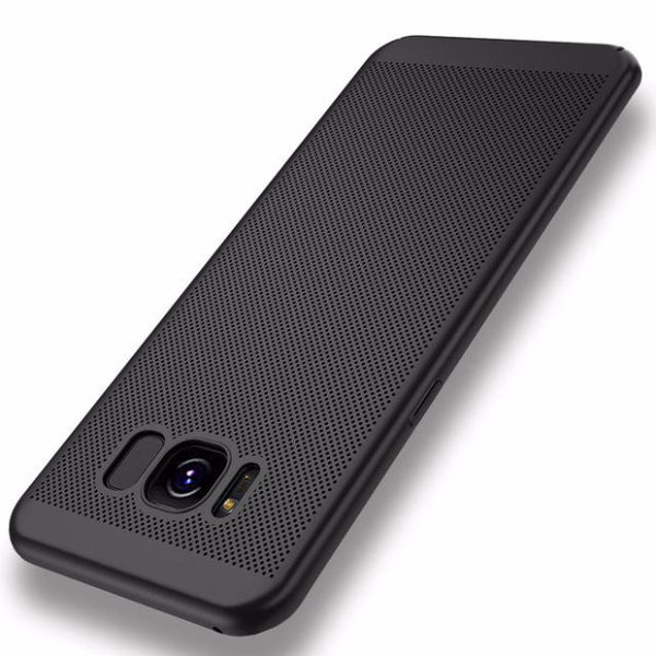 2017 Fashion Hard PC+Matte Phone Case For Samsung-black