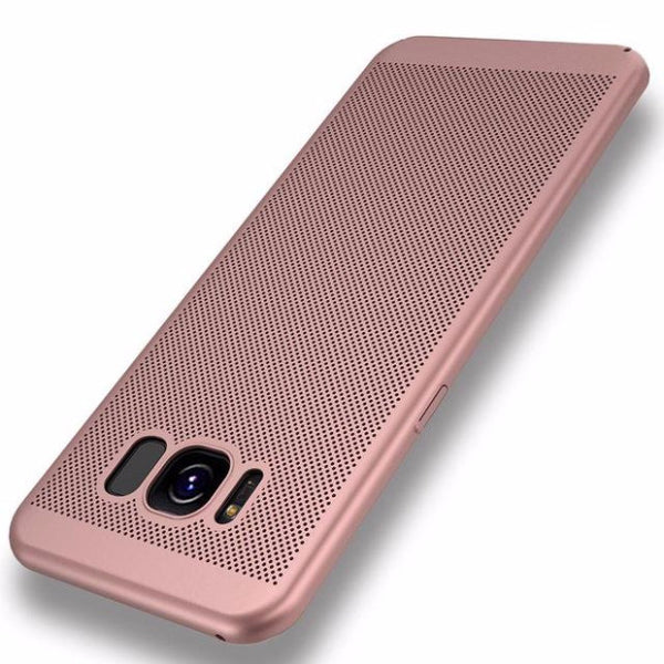 2017 Fashion Hard PC+Matte Phone Case For Samsung-pink