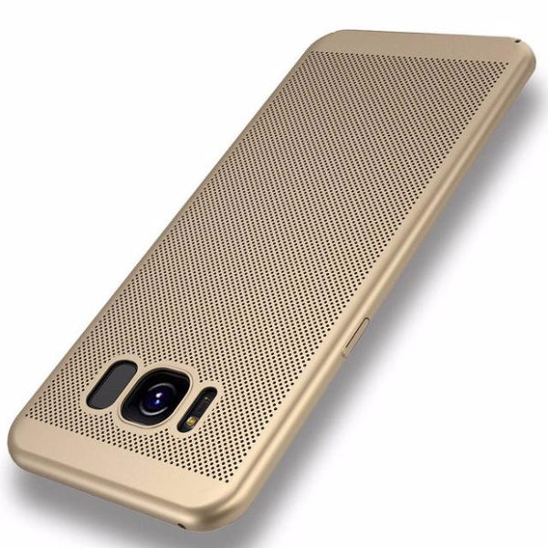 2017 Fashion Hard PC+Matte Phone Case For Samsung-gold