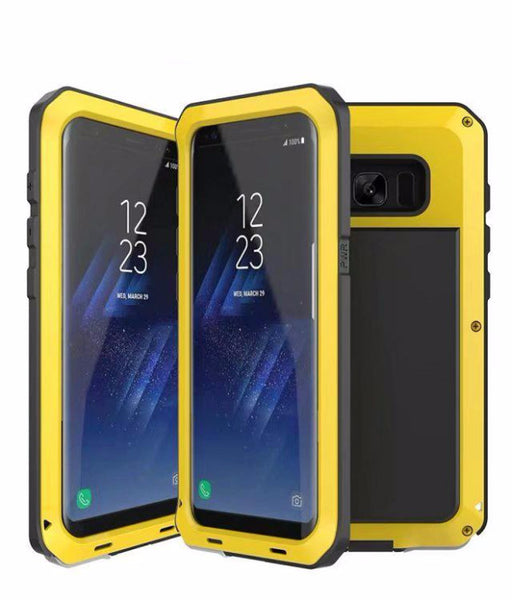 Heavy Duty Doom Armor Metal Case For Samsung