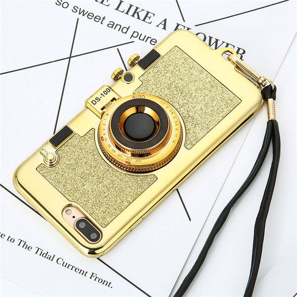 Halloween-323-Luxury 3D Retro Camera Case For iPhone *BUY 2 GET 1 FREE*