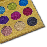 B037-12 Colors Glitter Diamond Rainbow Eyeshadow
