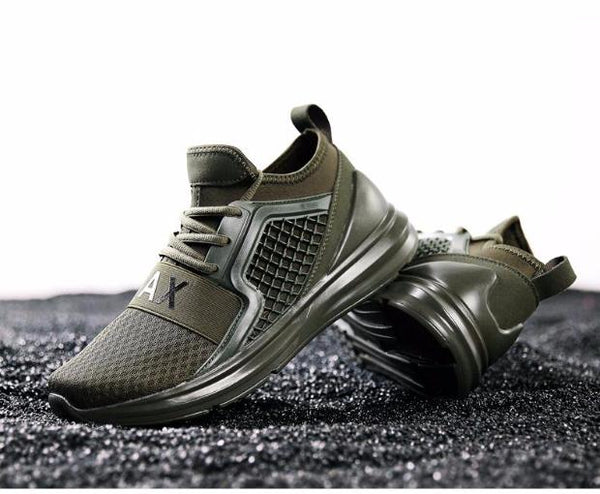 581-New Arrival Men Running Shoes  Sneakers Comfortable Male Sports Shoes
