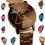 572-New Luxury Watch Fashion Stainless Steel Watch