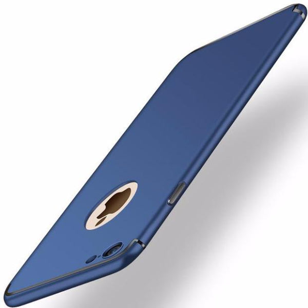 Ultra-thin Matte Slim Case For iPhone- 2 Pieces For Extra 15% OFF-Navy Blue