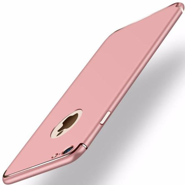 Ultra-thin Matte Slim Case For iPhone- 2 Pieces For Extra 15% OFF-Rose Golden