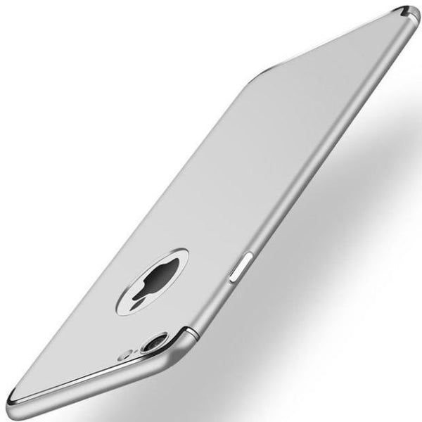 Ultra-thin Matte Slim Case For iPhone- 2 Pieces For Extra 15% OFF-Silver