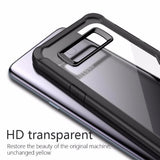 Acrylic Shockproof Transparent Cover Case For Samsung