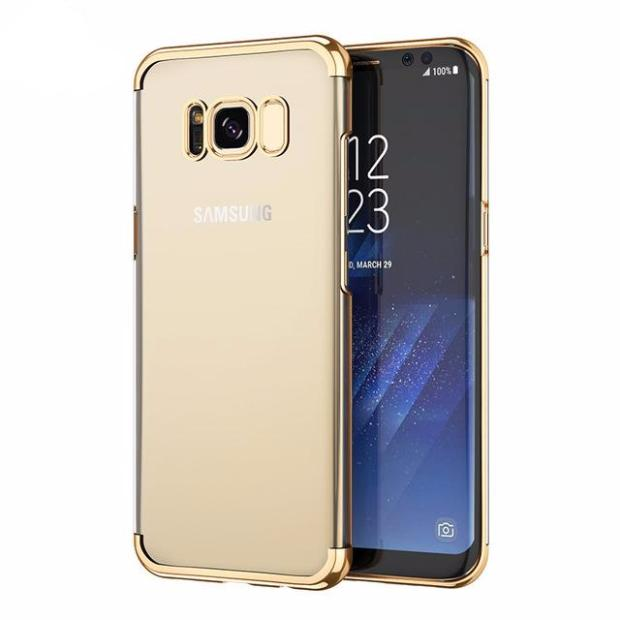 541-Luxury 3D Plating Case For Galaxy S8/8+
