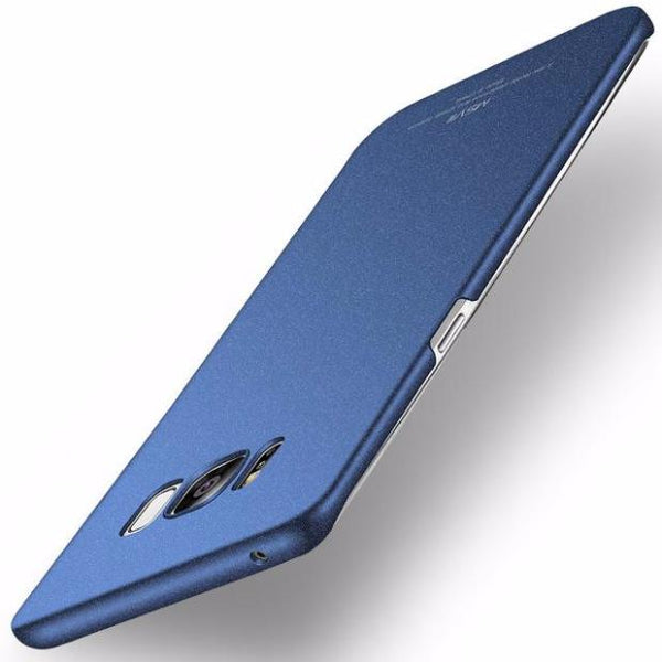 Super Thin Luxury Case For Samsung-Frosted Blue