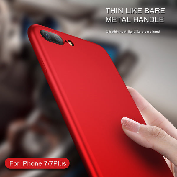 398-Luxury Soft Silicone Case For iPhone