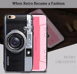 Luxury Vintage Camera Case For iPhone