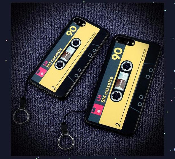 Luxury Vintage Camera Case For iPhone-Yellow Tape