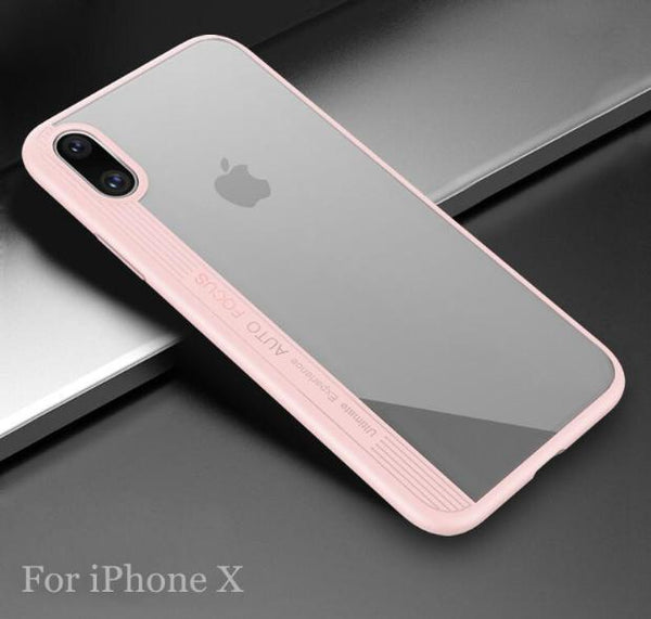 659-Original Soft Silicone Edge Cover For iPhone