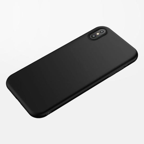 774-Matte Soft Silicon Case For iPhone