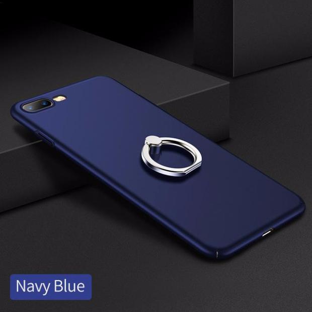 517-Ring Stand Full Protection Case For iPhone