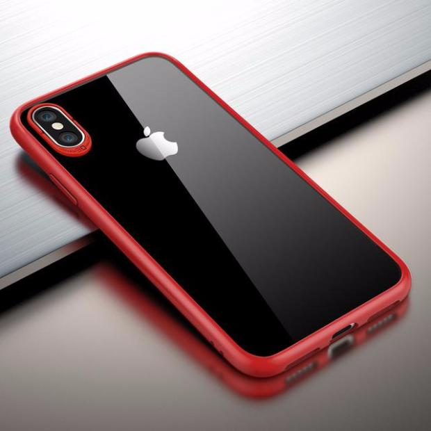 633-Flexible Ultra Thin Soft Silicone Color Side Shockproof Protect Case For iPhone