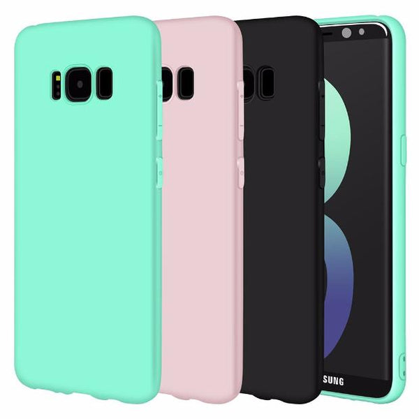 523-Silicone Case For Samsung Galaxy S8/S8 Plus