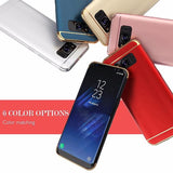 491- 3 in 1 Combo Plating Phone Case For Samsung