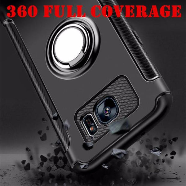 490-Luxury Shockproof Case For Samsung