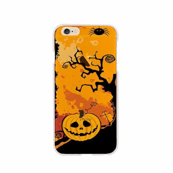 BFCM-424-Halloween Day Series Soft TPU Case For iPhone