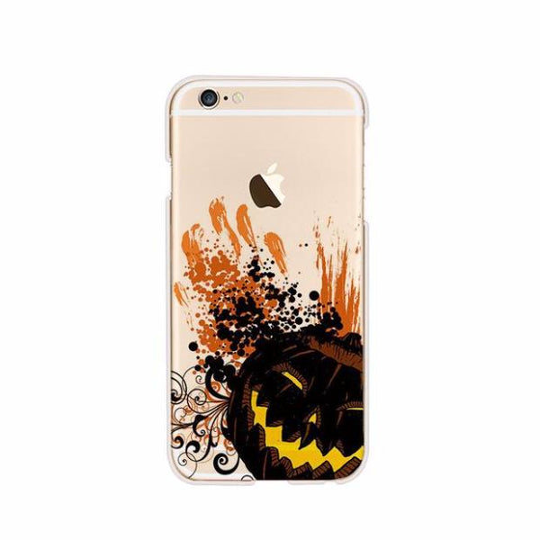 Halloween-424-Halloween Day Series Soft TPU Case For iPhone *BUY 2 GET 1 FREE*