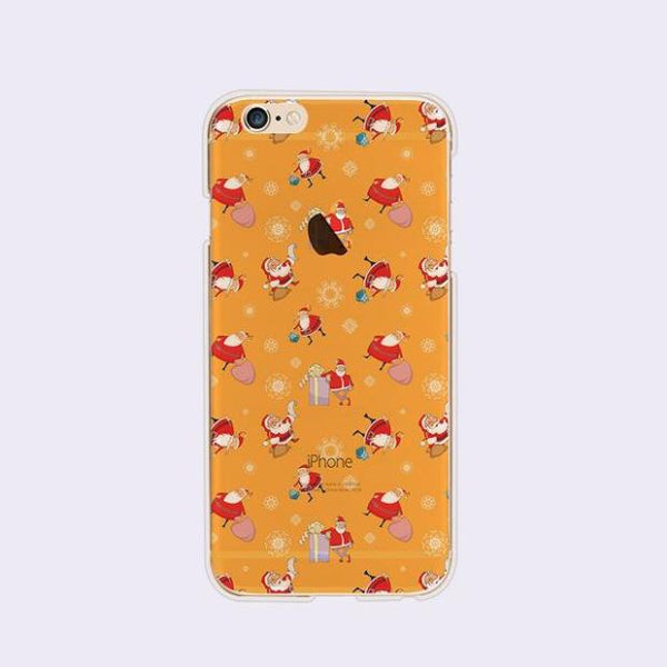 Halloween-426-[10 Colors] Christmas Series Soft TPU Case For iPhone *BUY 2 GET 1 FREE*