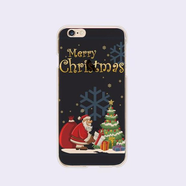 426-[10 Colors] Christmas Series Soft TPU Case For iPhone