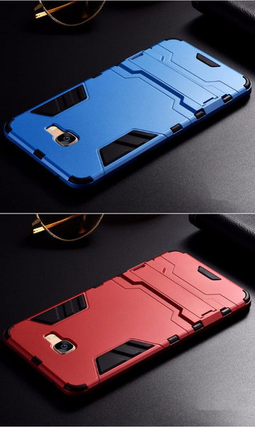 BFCM-430-Hybrid Silicone Hard PC Slim Case For Samsung