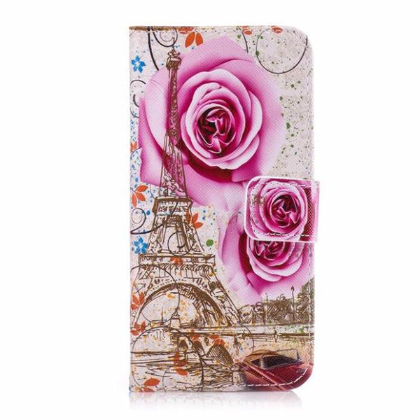 467-Art Painting Wallet Flip Leather Cover