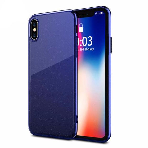 649-Luxury Ultra Thin Plating Cover Cases For iPhone X
