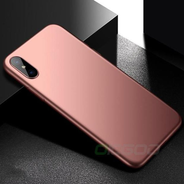 661-Luxury Ultra Thin Silicone Phone Case For iPhone X