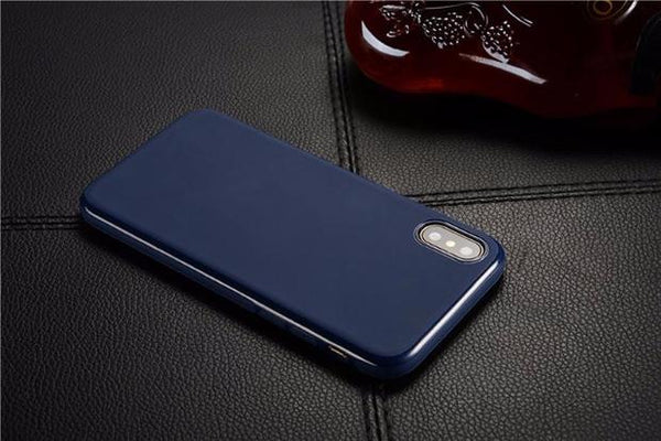612-Magnetic Soft Silicone Magnet Case for iPhone