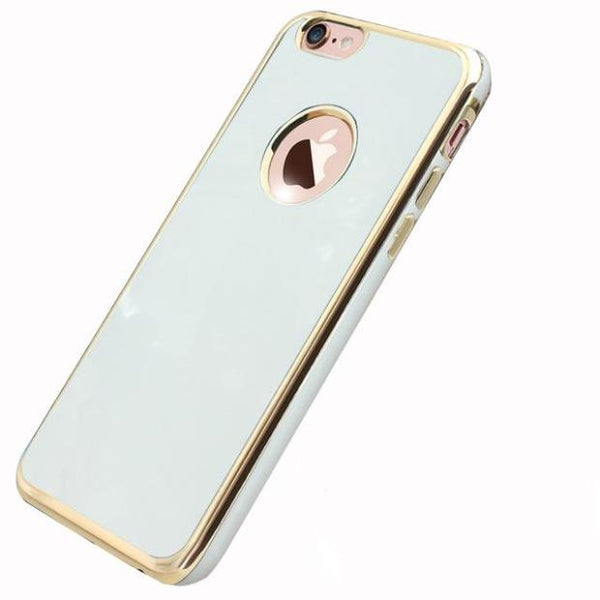 791-Luxury Glitter Silicone Case For iPhone