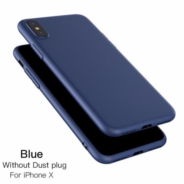 611-Luxury Ultra Thin TPU Silicone Phone Soft Slim Case For iPhone