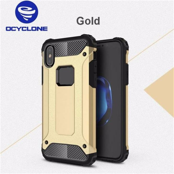 647-Heavy Duty Full Protection Armored Cover Case For iPhone