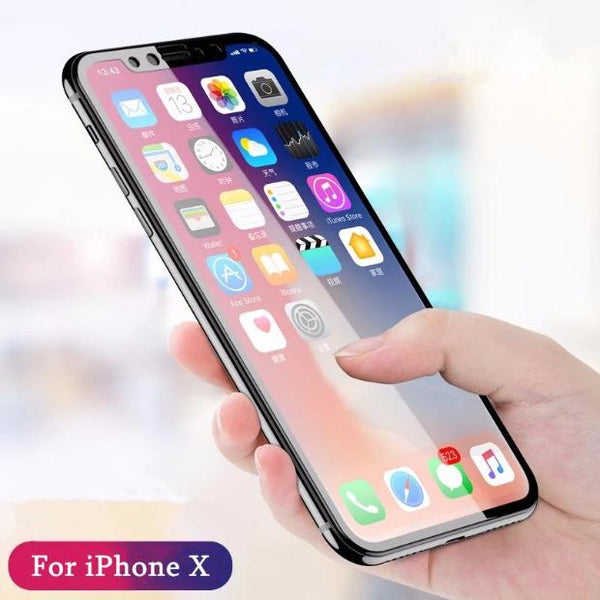650-3D Curved Soft Edge Screen Protector Tempered Glass Film For iPhone
