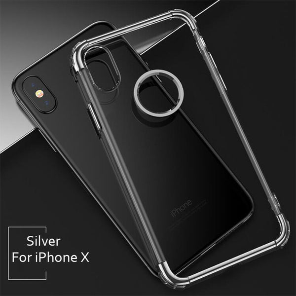 764-Luxury Electroplated Frame Cases For iPhone