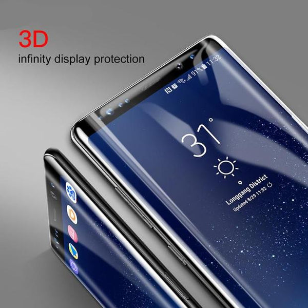 850-Tempered Glass Full Screen Protective Film For Note 8