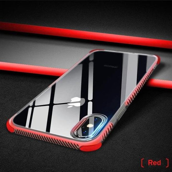 840-Hybrid Dual Layer Anti-knock Case For iPhone X