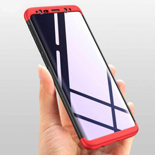 818- 3 in 1 PC Full Protection Cases For Samsung Galaxy S9/S9+